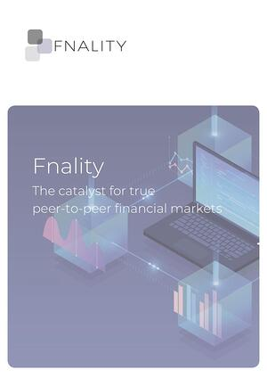 Fnality The Catalyst for true peer to peer financial markets